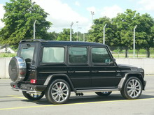 A.R.T AS55K Yaas Edition based on the Mercedes-Benz G55 AMG