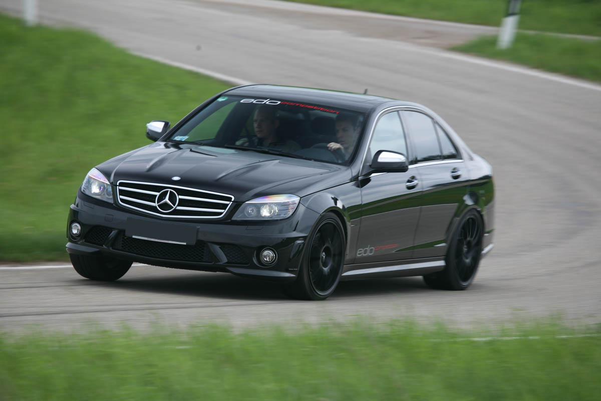 Mercedes benz c63 amg v8 by edo competition news for Mercedes benz v8 amg