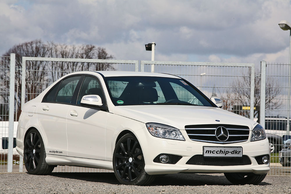 mercedes benz c200 cdi by mcchip news tuning directory. Black Bedroom Furniture Sets. Home Design Ideas