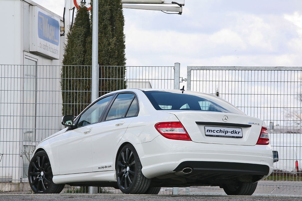 Mercedes Benz C200 Cdi By Mcchip News Tuning Directory