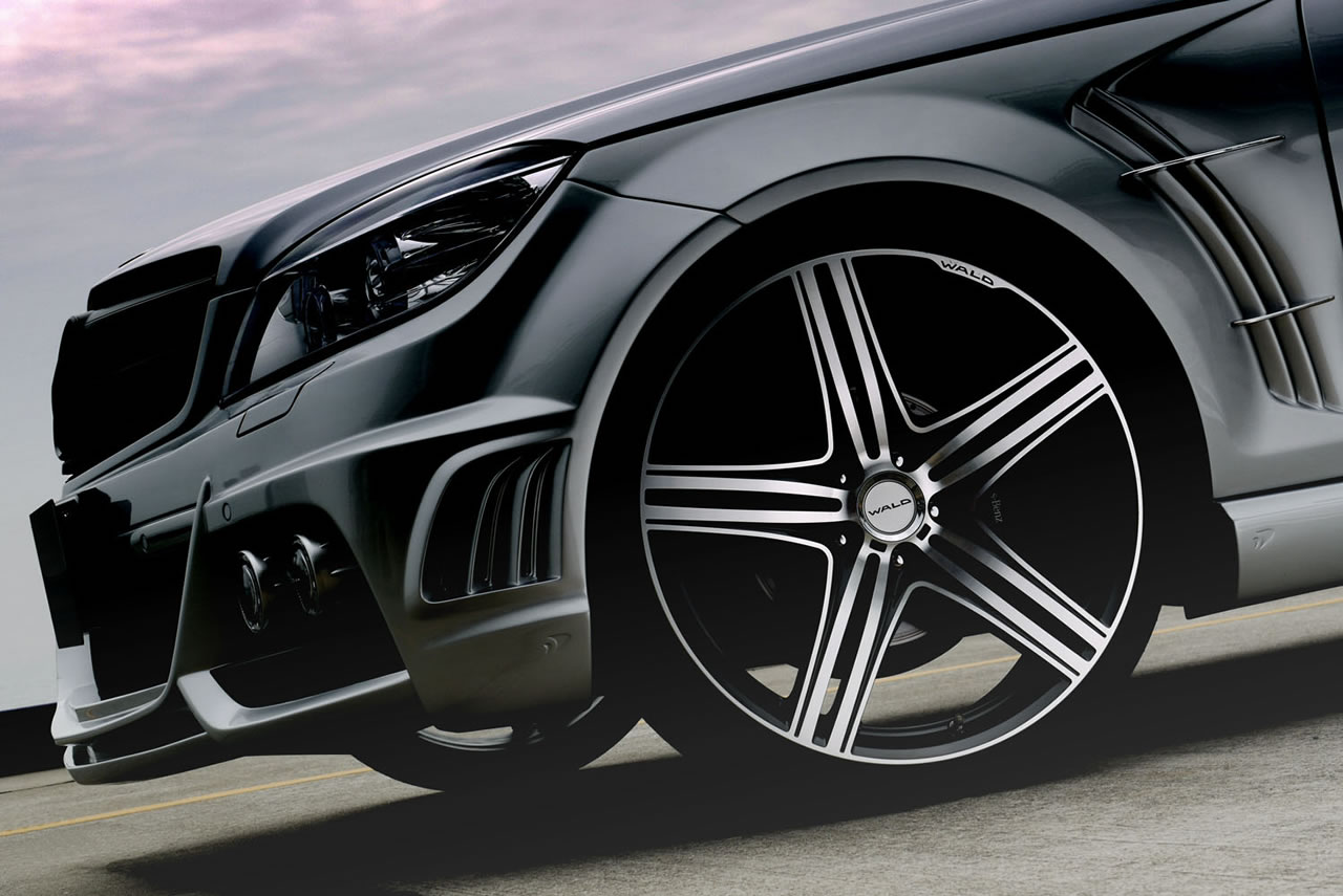 Mercedes c class black bison edition by wald international for International mercedes benz