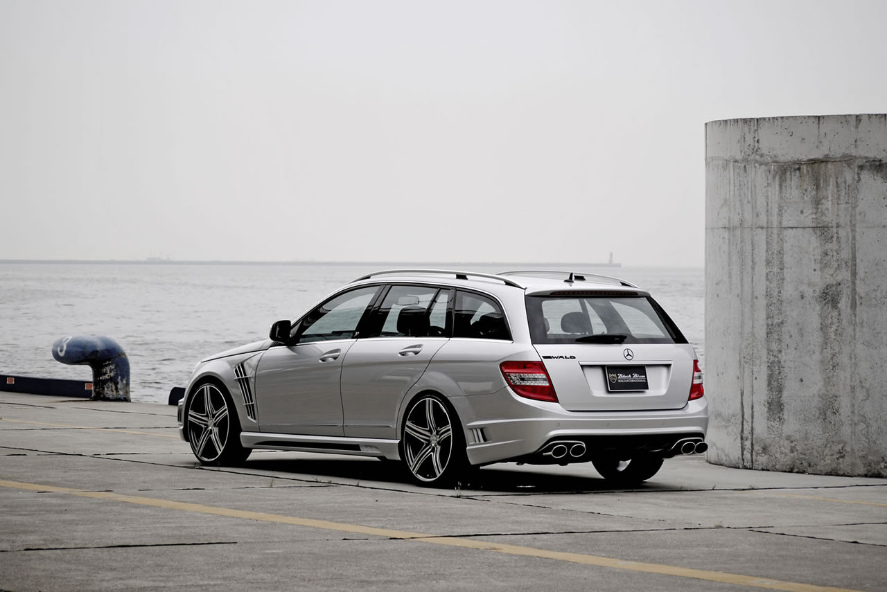 Mercedes c class black bison edition by wald international for Mercedes benz us international