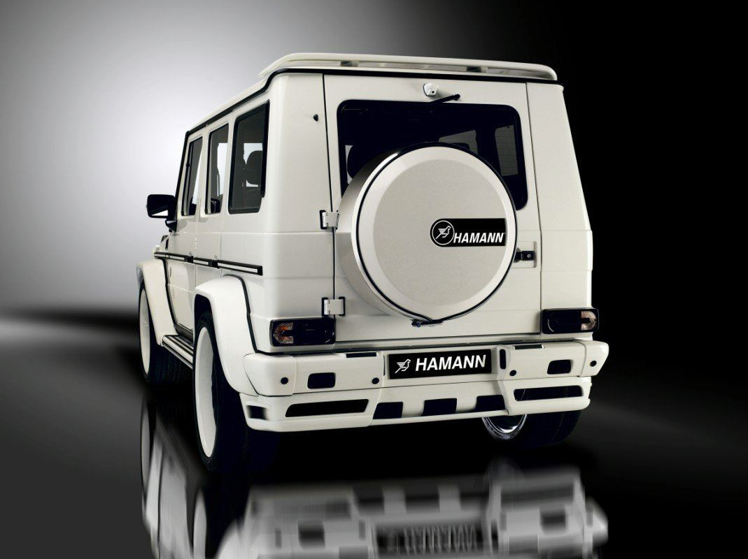 Mercedes G55 AMG by Hamann