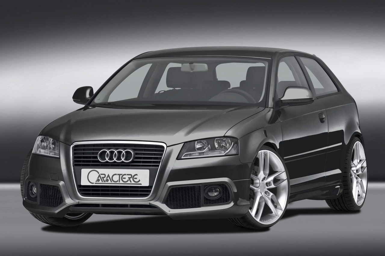 audi a3 facelift by caractere news tuning directory. Black Bedroom Furniture Sets. Home Design Ideas