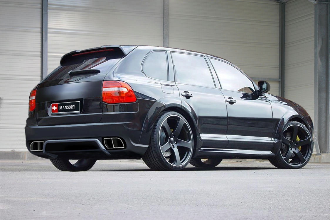 Porsche Cayenne 955 Tuning Program By Mansory News
