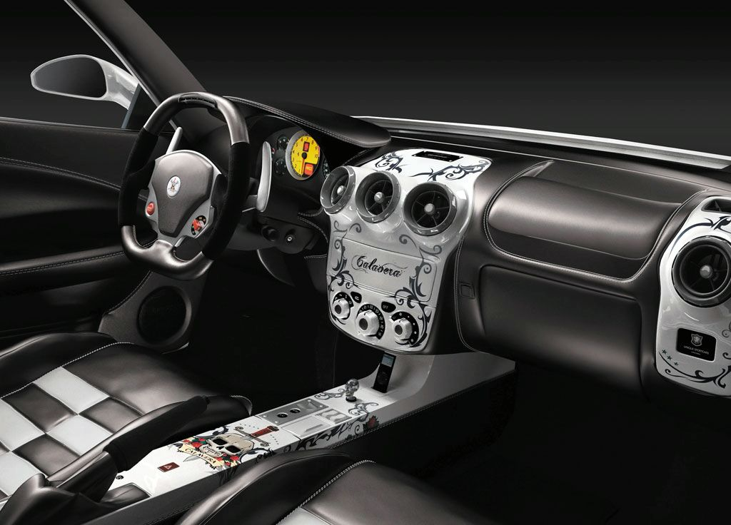 Ferrari f430 calavera by unique sportscars novitec rosso for Interieur tuning auto