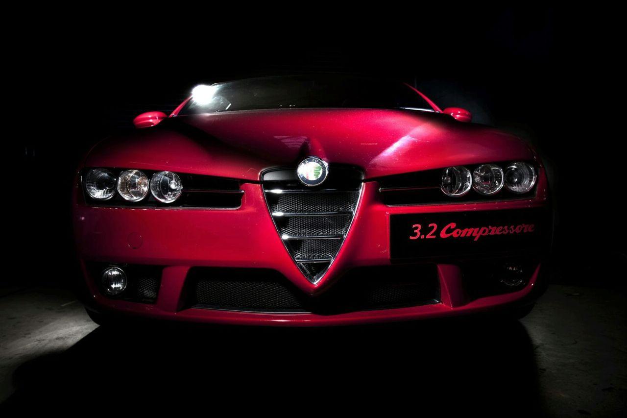 Alfa Romeo 159 J4 3 2 C And Brera S 3 2 Compressore By Autodelta News Tuning Directory