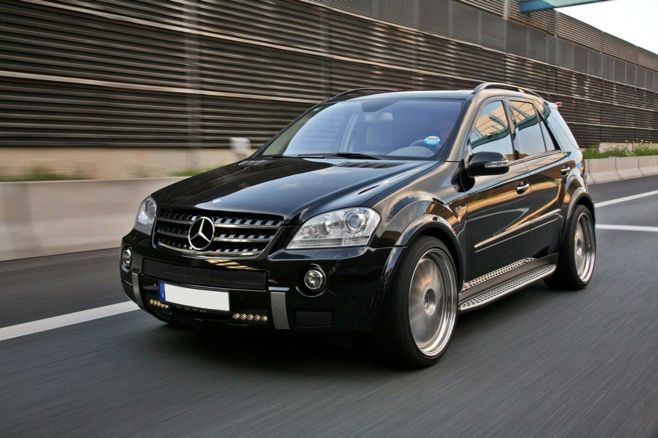 v th giant based on mercedes ml 63 amg news tuning. Black Bedroom Furniture Sets. Home Design Ideas