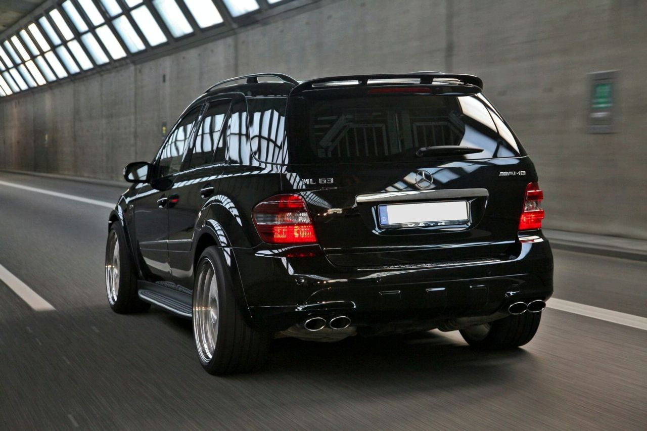 vÄth giant based on mercedes ml 63 amg | news | tuning directory