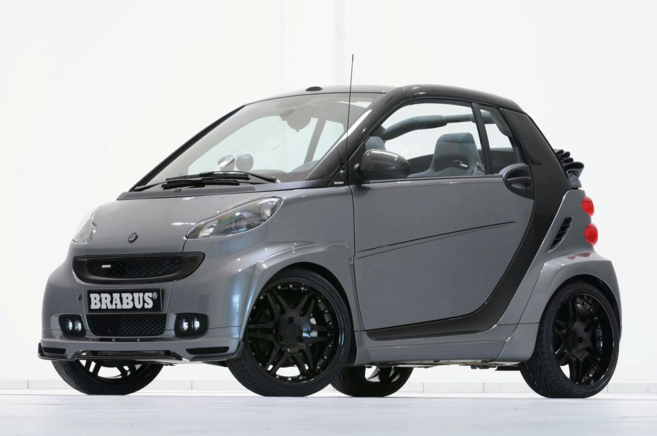 brabus ultimate r based on the smart fortwo news. Black Bedroom Furniture Sets. Home Design Ideas