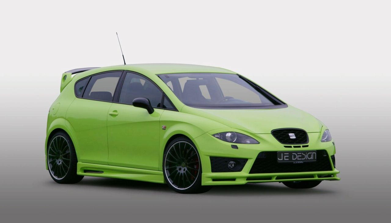 seat leon cupra by je design news tuning directory. Black Bedroom Furniture Sets. Home Design Ideas