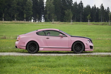 Mansory Vitesse Rose based on Bentley Continental GT Speed
