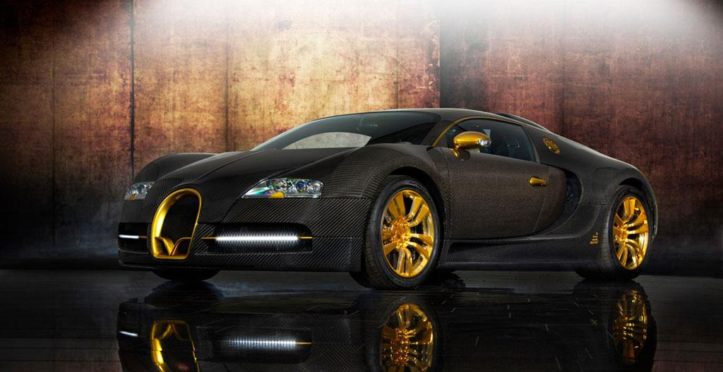 Mansory Bugatti Veyron Linea Vincero D Oro News Tuning