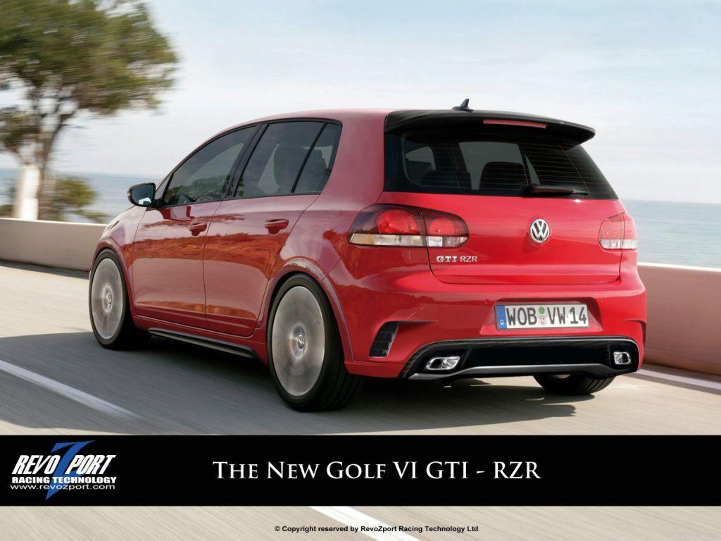 Golf 6 R32 Red The golf vi gti - rzr bodykit