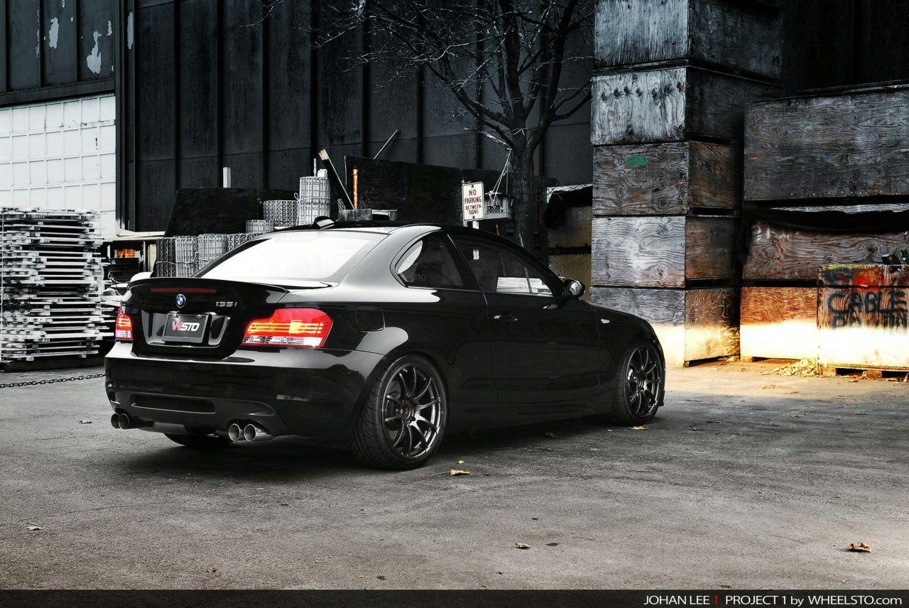 VWVortexcom The Black Widow BMW I Tuning Performance Project - Bmw 135i tune
